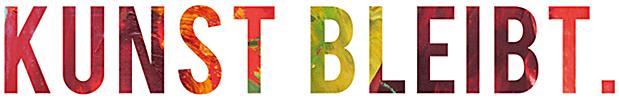 KUNST BLEIBT. Logo